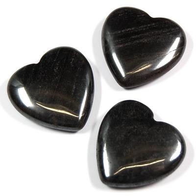 Hematite Hearts