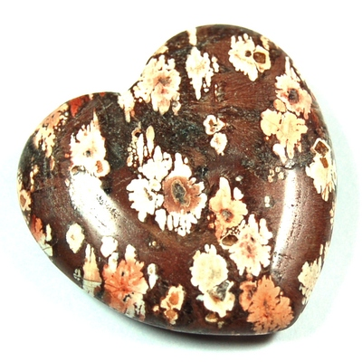 Hearts - Leopardskin Jasper Heart (China)