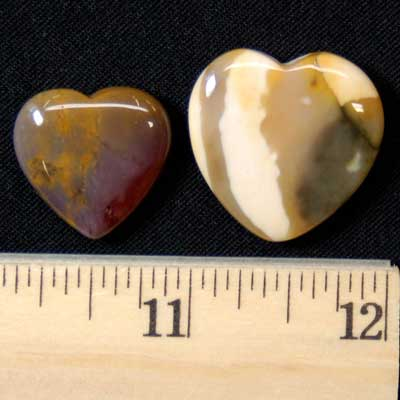 Hearts - Mookaite Jasper Heart photo 7