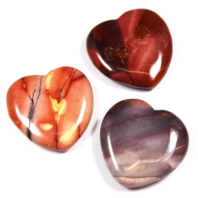 Hearts - Mookaite Jasper Heart (China)