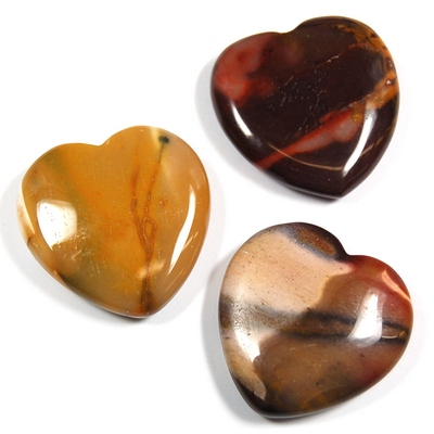 Hearts - Mookaite Jasper Heart photo 3