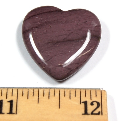 Hearts - Mookaite Jasper Heart photo 5