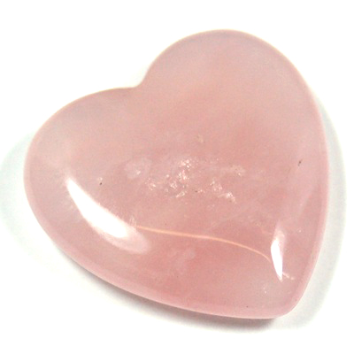 Hearts - Rose Quartz Heart