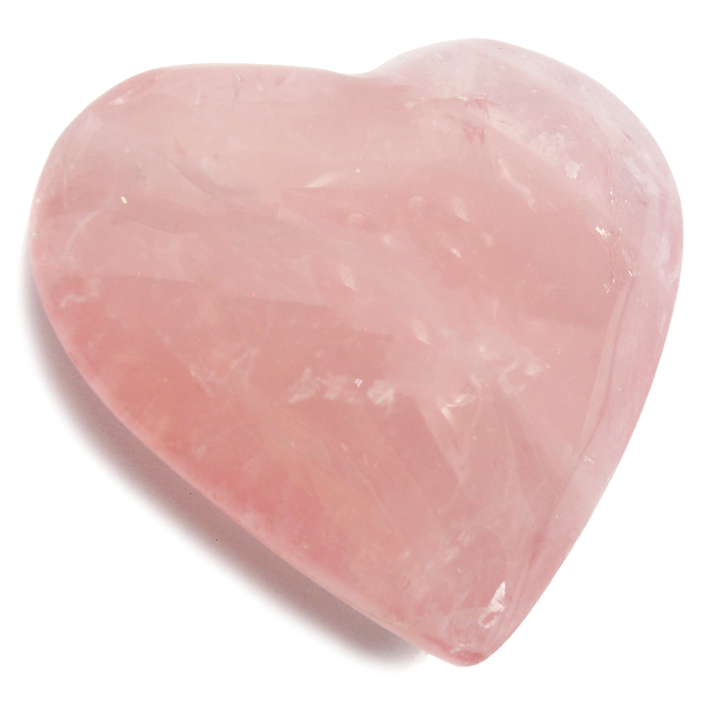 Hearts - Rose Quartz Heart (Brazil)