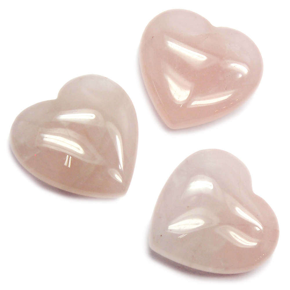 Hearts - Rose Quartz Heart (China)