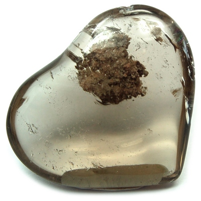 "Hearts - Smokey Quartz Crystal Heart ""Extra"" photo 10"