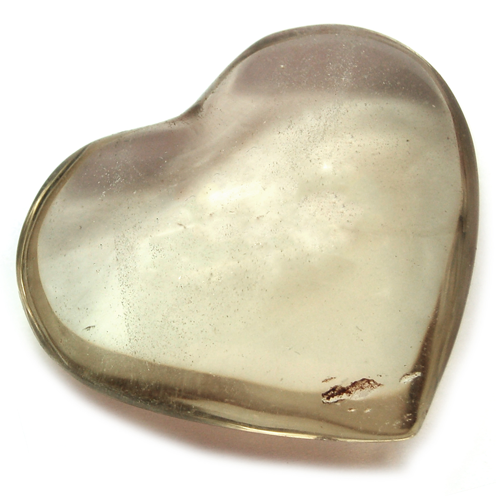 "Hearts - Smokey Quartz Crystal Heart ""Extra"" photo 3"