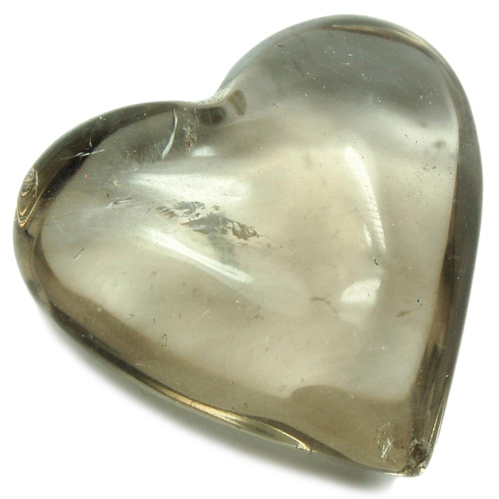 Smokey Quartz Hearts