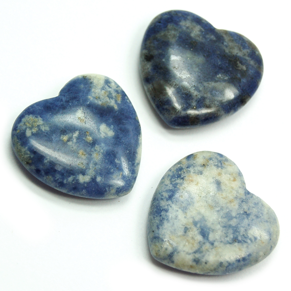 Hearts - Sodalite Heart (China)