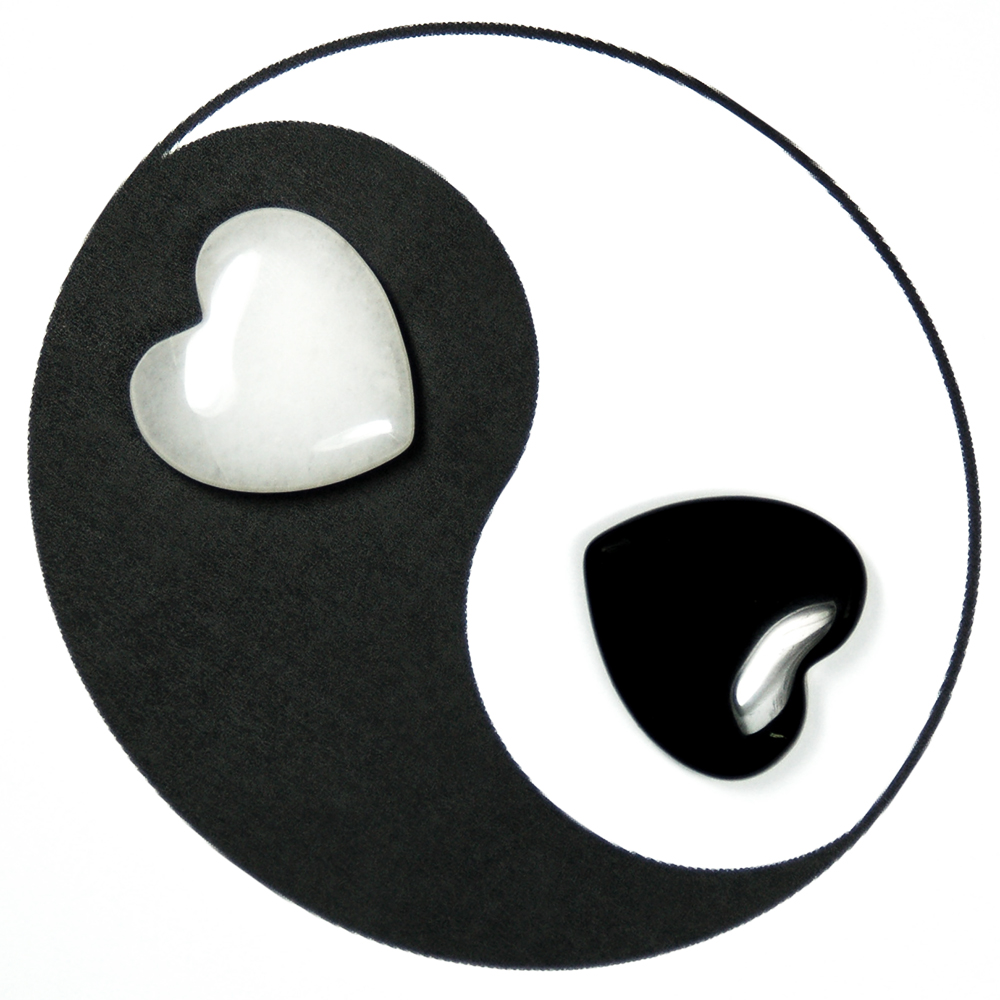 Hearts - Yin-Yang Hearts 2pc. Set (China)