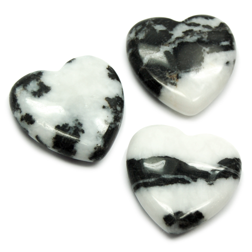 Hearts - Zebra Jasper Heart (China)
