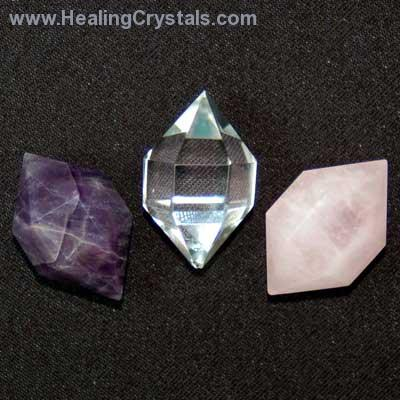 "Herkimer ""Cut"" Jewel Point Crystal"