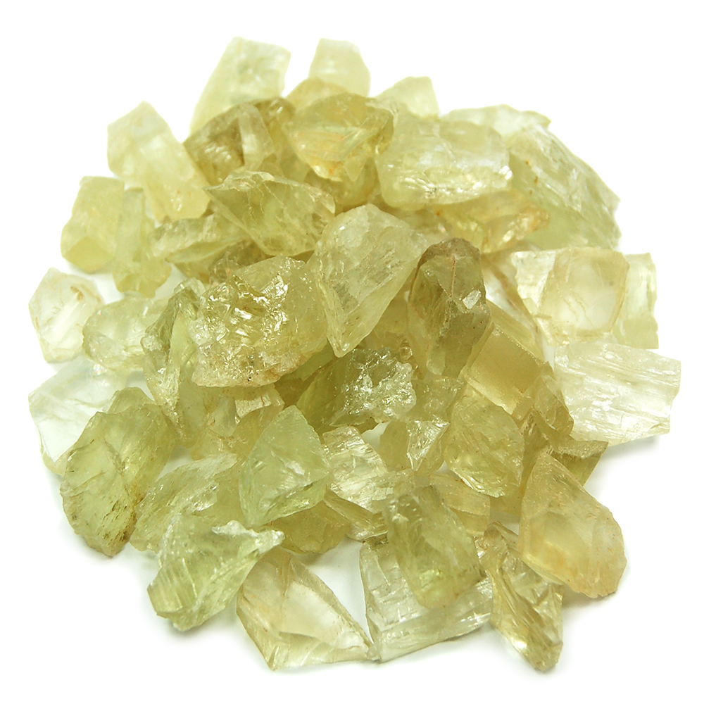 Hiddenite - Hiddenite Chips (Brazil)