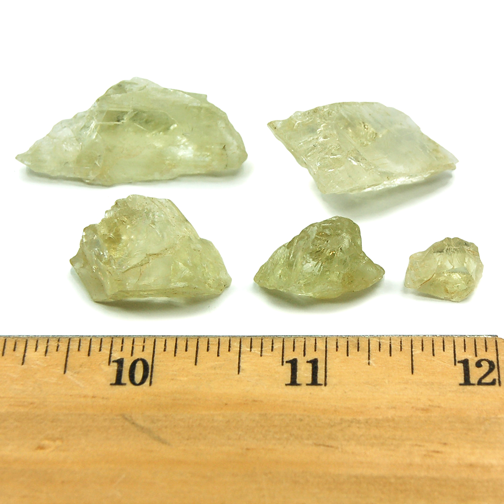 Hiddenite Crystal Chips (Brazil) photo 4