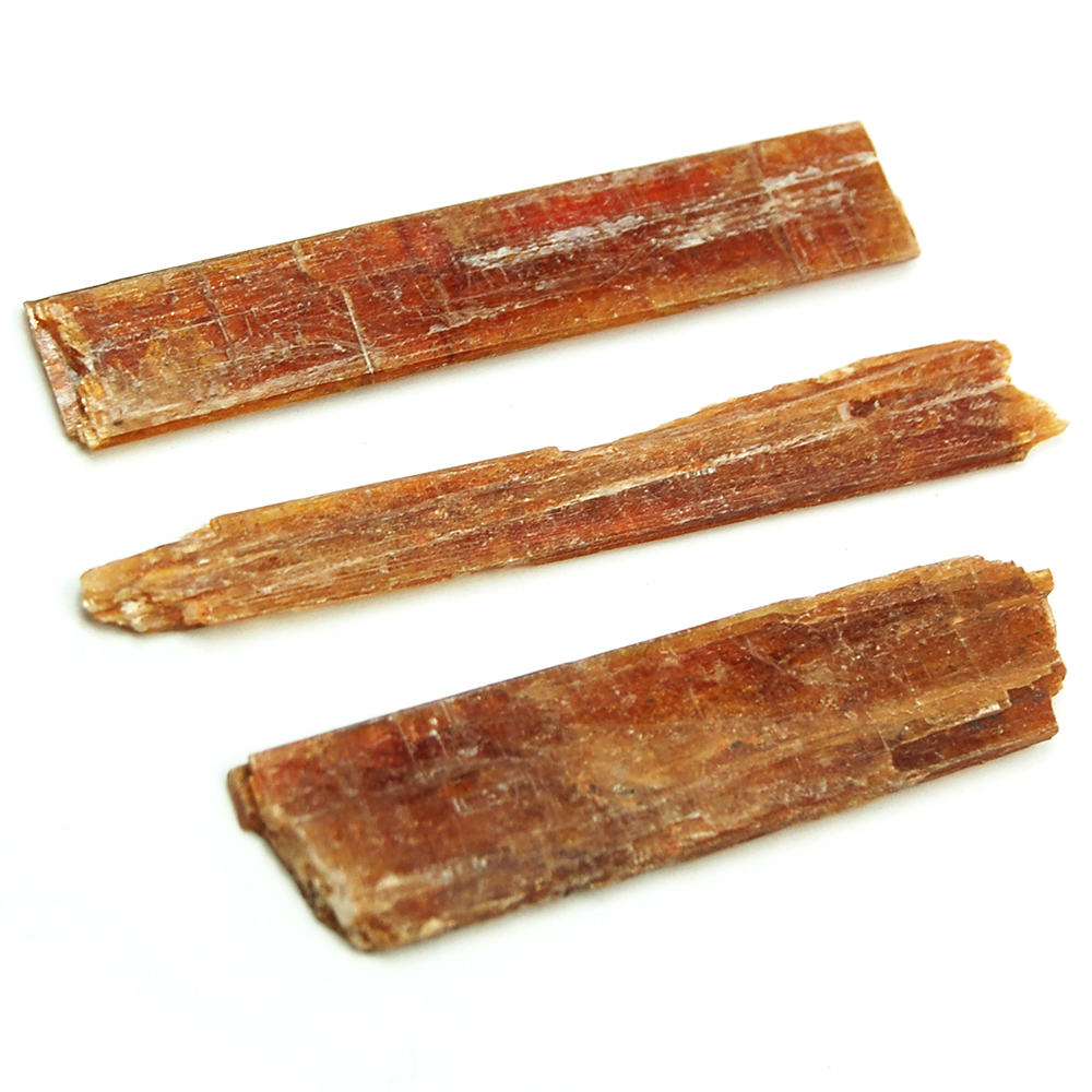Kyanite - Orange Kyanite Blades (Tanzania)