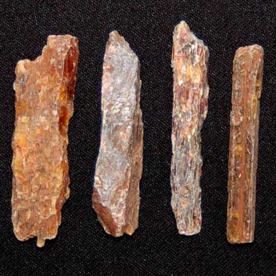 Kyanite - Orange Kyanite Chips/Chunks