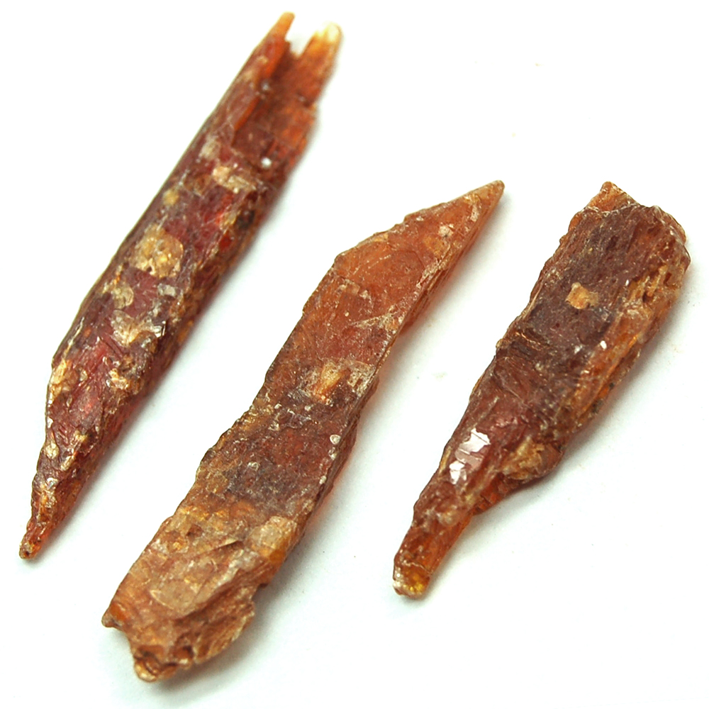 Kyanite - Orange Kyanite Chips/Chunks (Tanzania)