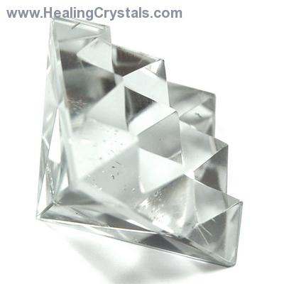 Lemurian Master Pyramid - Clear Quartz Crystal photo 3