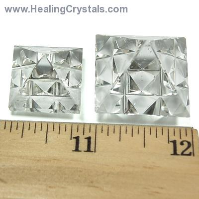 Lemurian Master Pyramid - Clear Quartz Crystal photo 4