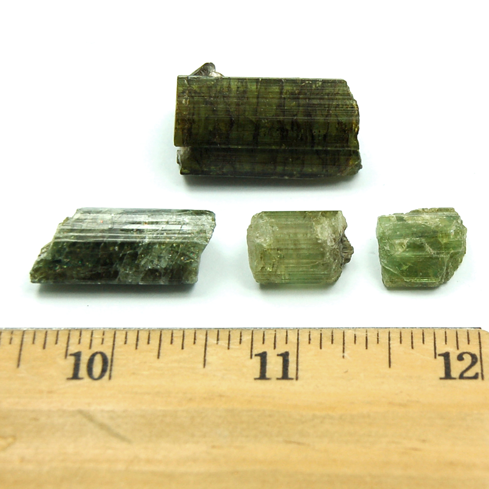 Light Green Tourmaline Rods