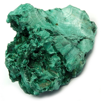 "Discontinued - Malachite ""Fibrous"" Clusters (China)"