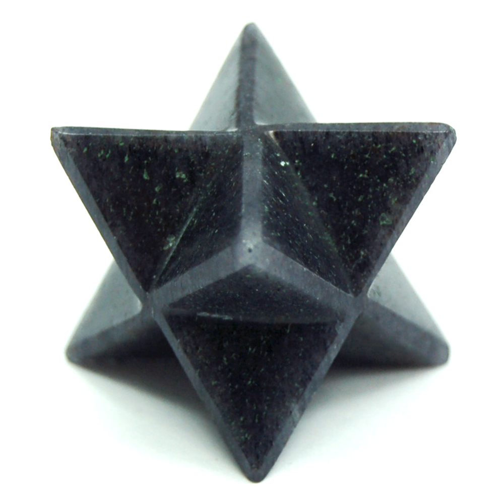 Discontinued - Blue Aventurine Merkaba Star (India)
