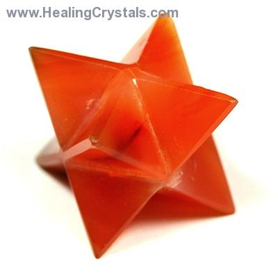 "Merkaba - Carnelian Merkaba Star ""Extra"" photo 8"