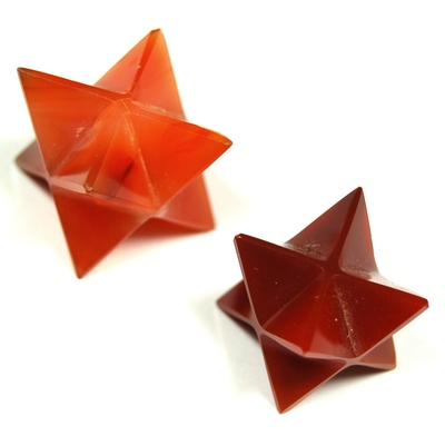 "Merkaba - Carnelian Merkaba Star ""Extra"" photo 9"