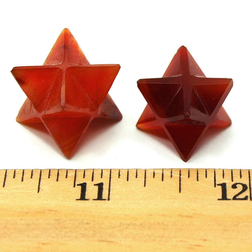 "Merkaba - Carnelian Merkaba Star ""Extra"" photo 4"