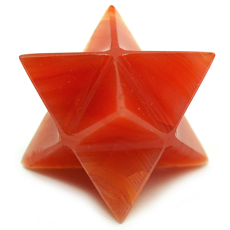 "Merkaba - Carnelian Merkaba Star ""Extra"" photo 3"