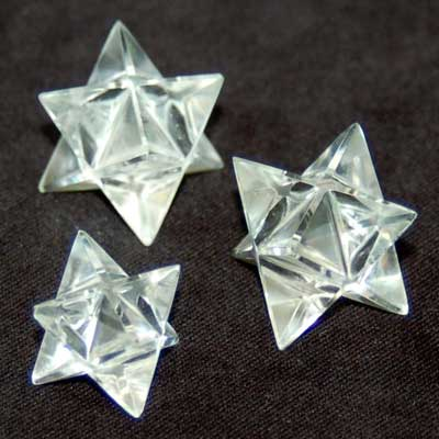 Merkaba - Clear Quartz Merkaba Star