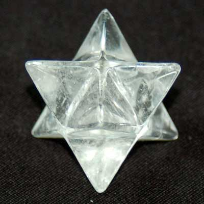 Merkaba - Clear Quartz Crystal Merkaba Star photo 3
