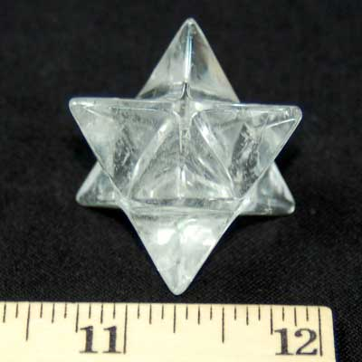 Merkaba - Clear Quartz Crystal Merkaba Star photo 4
