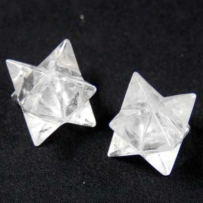 Merkaba - Clear Quartz Crystal Merkaba Star photo 5