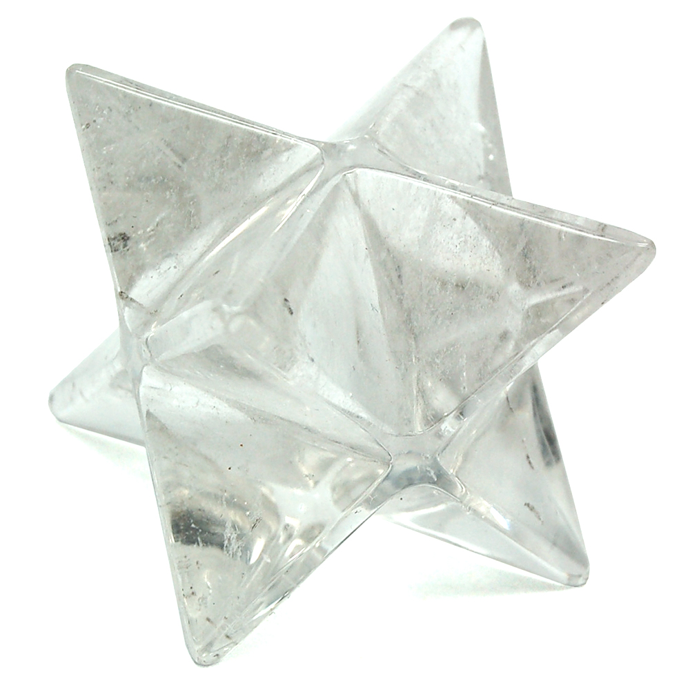 Merkaba - Clear Quartz Merkaba Stars - Specimens (India)