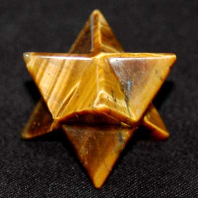 Merkaba - Golden Tiger Eye Merkaba Star