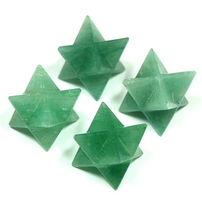 Merkaba - Green Aventurine Crystal Merkaba Star photo 3