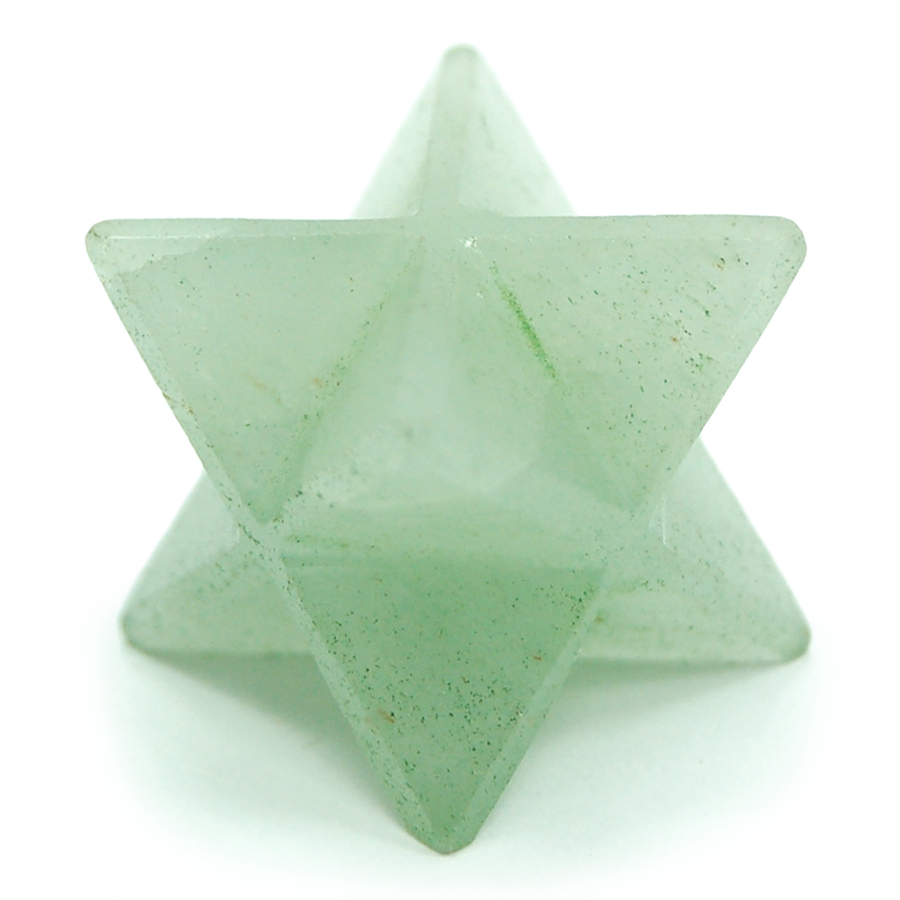 Merkaba - Green Aventurine Merkaba Star (India)