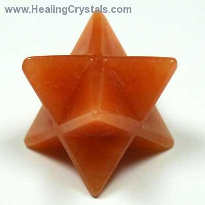Merkaba - Orange Aventurine Merkaba  Star