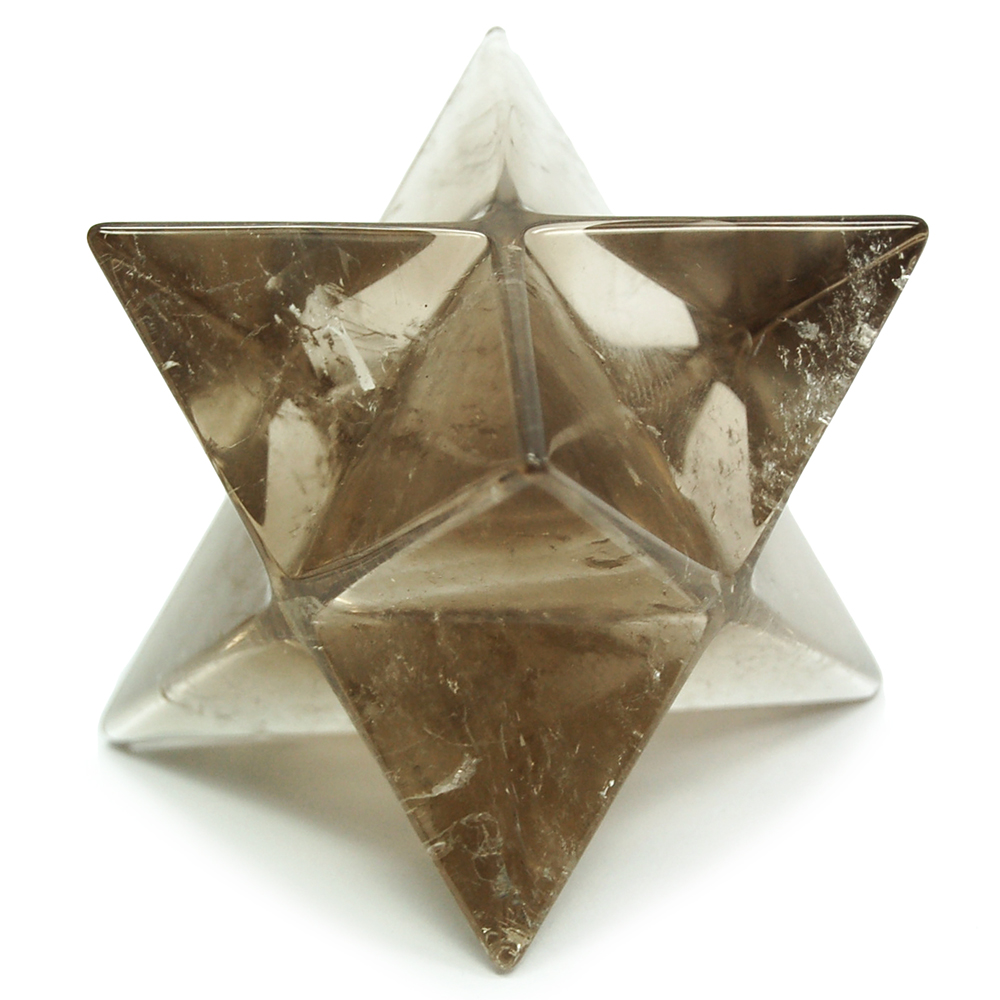 Merkaba - Smokey Quartz Merkaba Star (India)