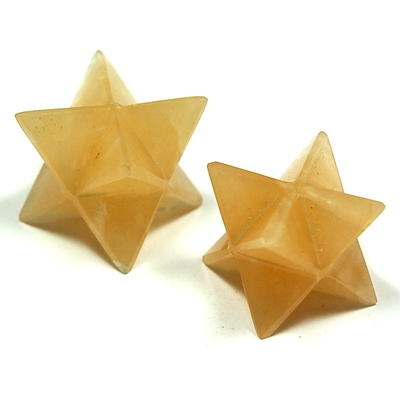 Merkaba - Yellow Aventurine Merkaba Crystal Star photo 3