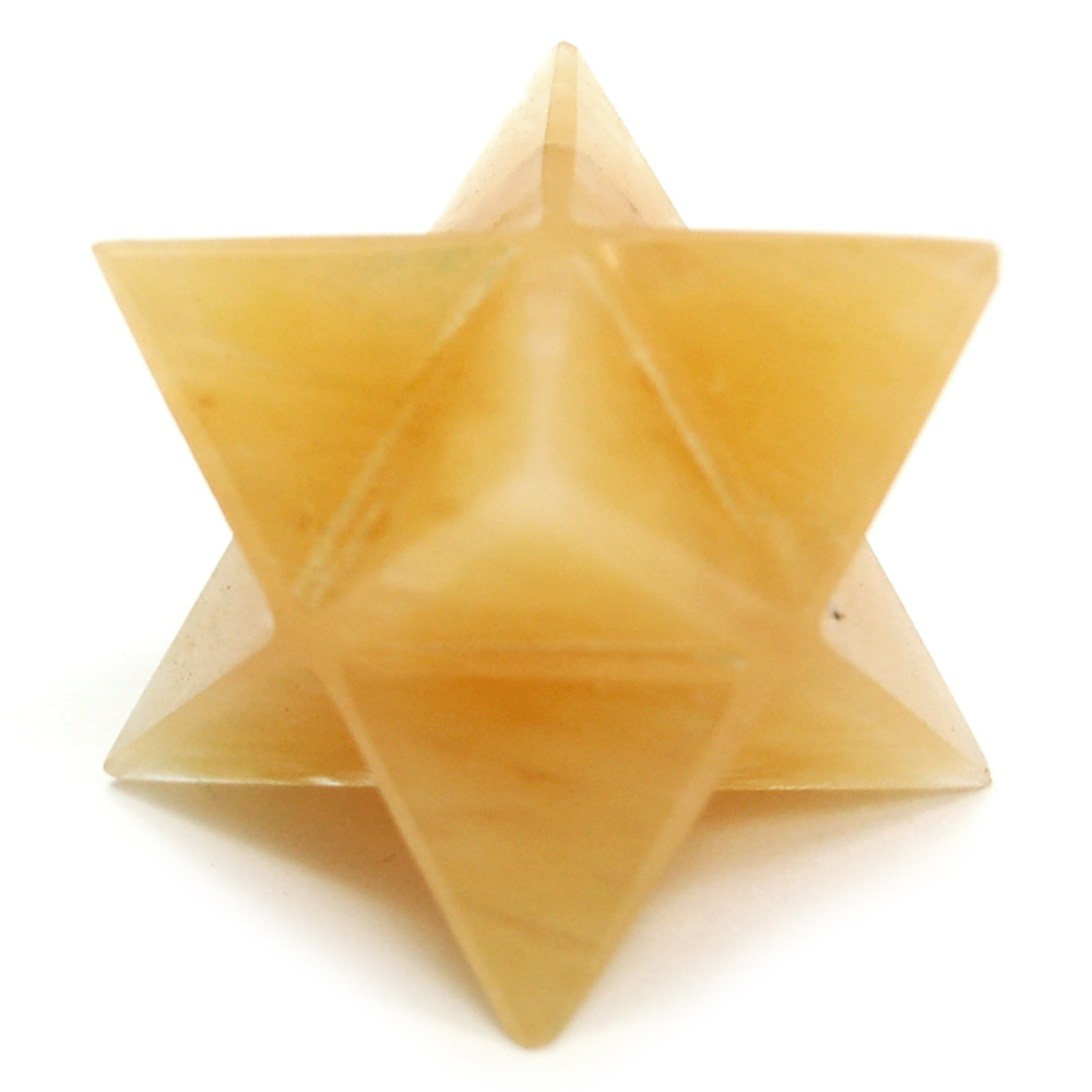 Merkaba - Yellow Aventurine Merkaba Star (India)