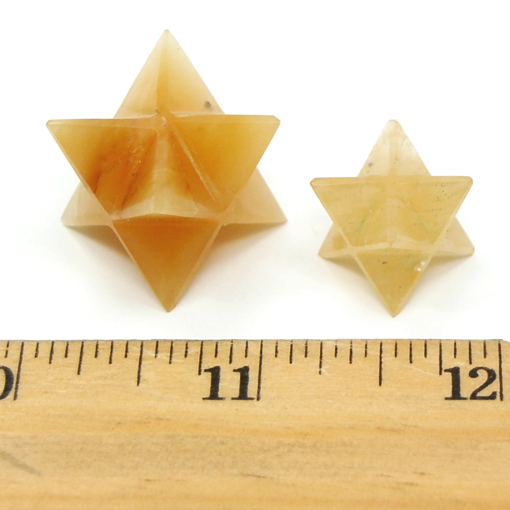 Merkaba - Yellow Aventurine Merkaba Crystal Star photo 4