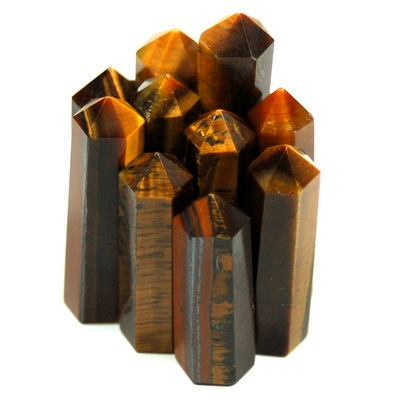 Towers - Golden Tiger Eye Mini-Tower (India)