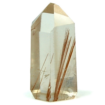 "Towers - Rutilated Smokey Quartz Mini-Tower ""Extra\"" (Brazil)"
