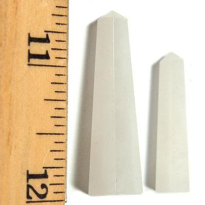 Towers - White Aventurine Mini-Tower (India)