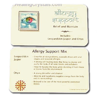 Mix - Tumbled Allergy Support Mix - 2 Piece Set w/Pouch