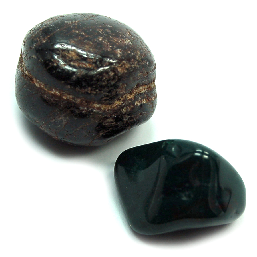 Tumbled Stones Garnet and Bloodstone for Easter