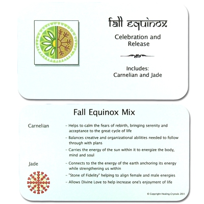 Mix - Tumbled Fall Equinox Mix - 2 Piece Set w/Pouch