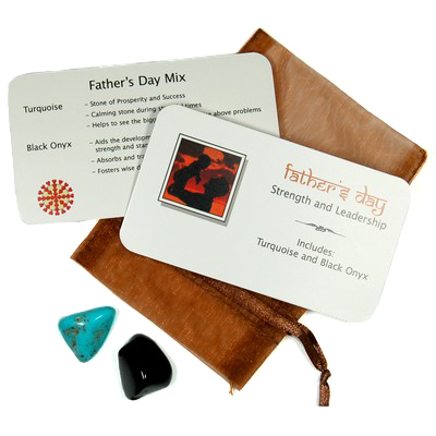 Mix - Tumbled Father\'s Day Mix - 2 Piece Set w/Pouch